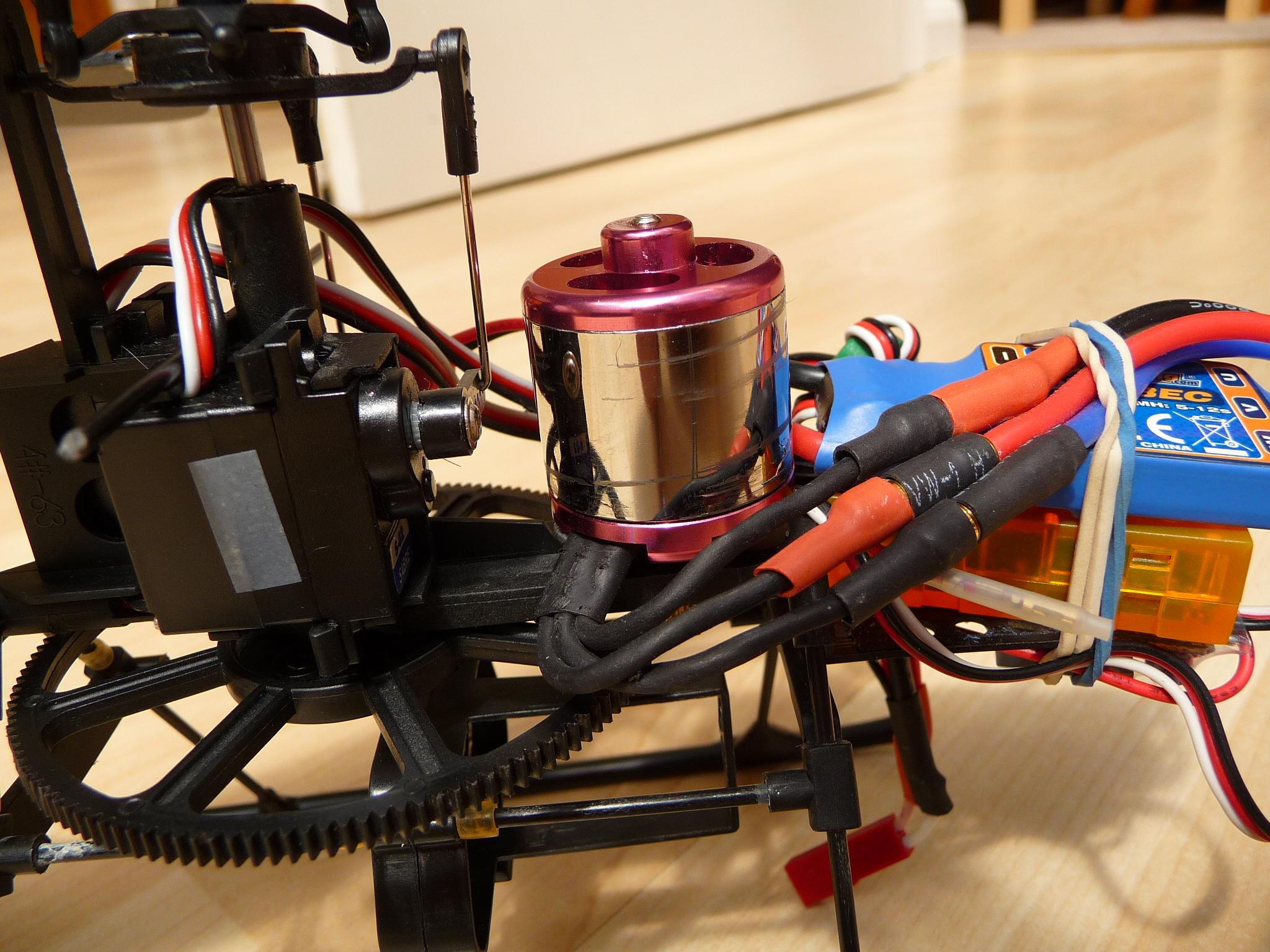 HBFP Brushless main motor | Heli Hack