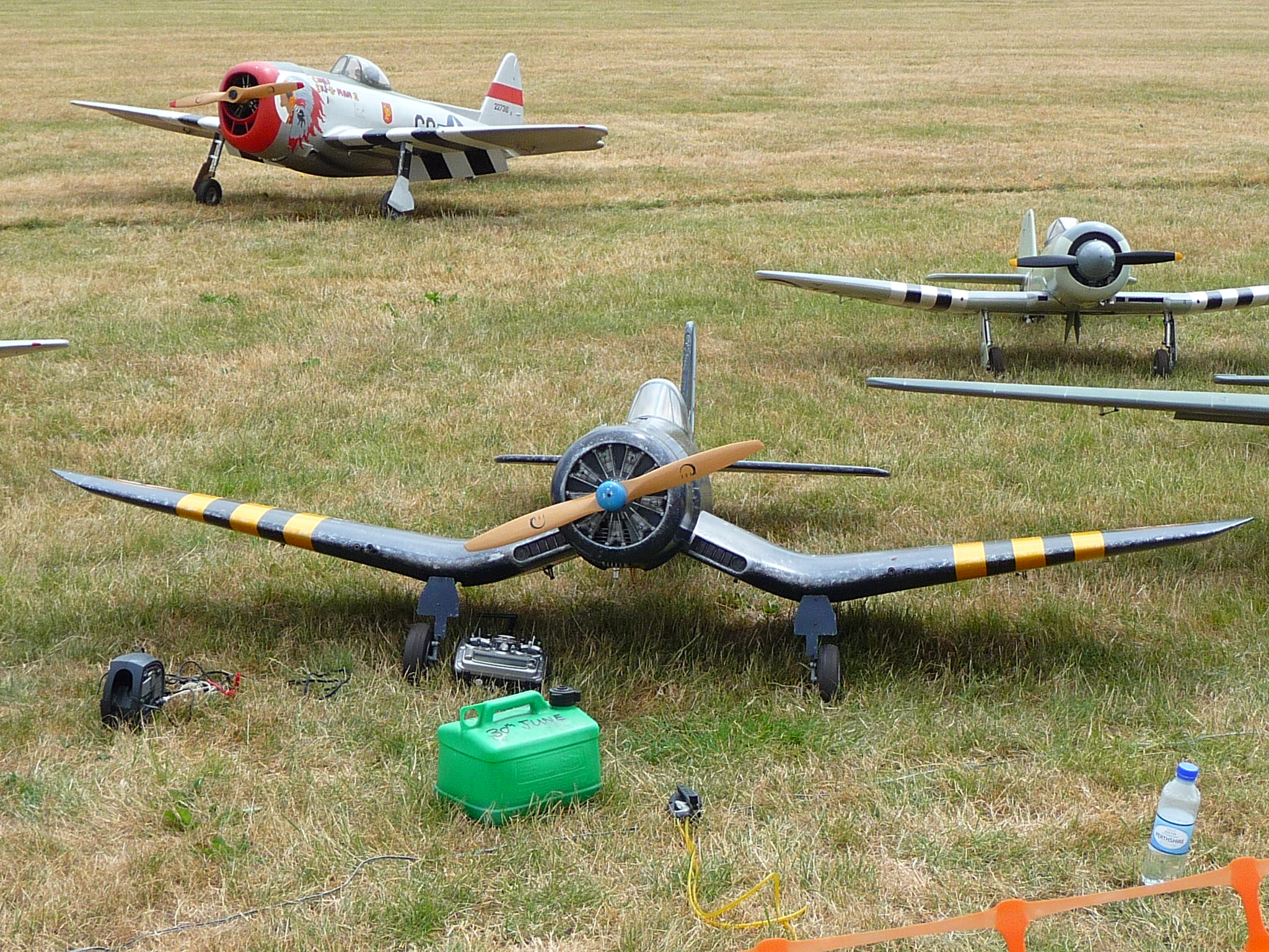 Large model aircraft at the Cosford show 2013